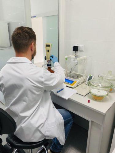 Laboratorium badania jakości wody