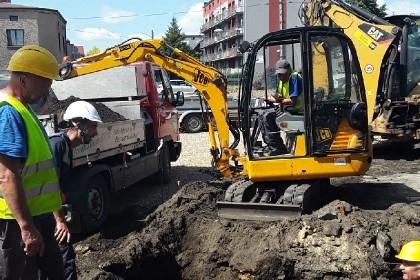 Modernizacją sieci wodociągowej w ul. Mrzygłodzkiej
